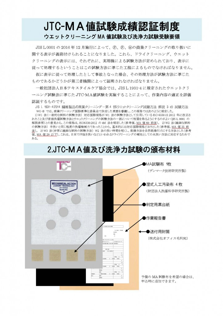 日本テキスタイルケアMA試験案内書_ページ_1